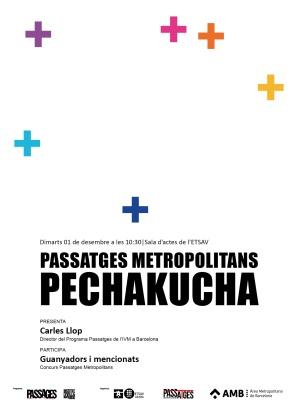 151201 PechaKucha Passatges ETSAV